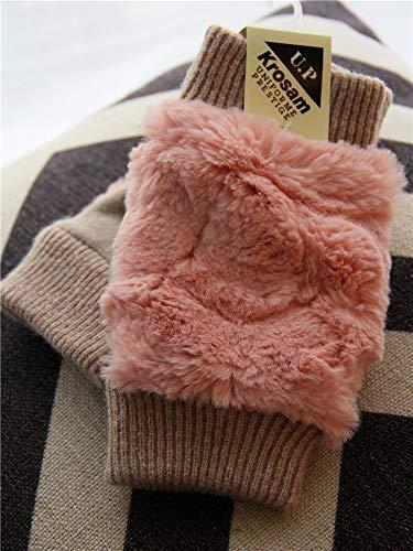Handschuhe Handschuhe Liner Baumwolle Stricken warme Herbst- und Winterhandschuhe, fünf Fingerhandschuhe, Pulver -