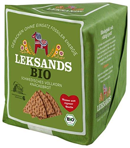 Leksands - Bio Vollkorn-Knäckebrot Brot Backwaren - 200g