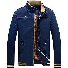 Sweatshirts Sudaderas Jacket, Rompevientos para Hombre Jersey Chaquetas con Cremallera de Moda Hombres otoño e