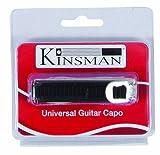 Kinsman KAC301 Capodastre pour Guitare Argent