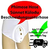 Beschneidungsunterhose, Sünnet Külodu, Phimosehose, Phimose, Sünnet, Beschneidung, Circumzision pants, Zirkumzision, Phimose Hose Größe (L) ca. 36-50 Kilo