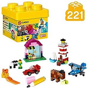 LEGO Classic - Ladrillos Creativos, Imaginativo Juguete de Construcción con Bricks de Colores (10692)