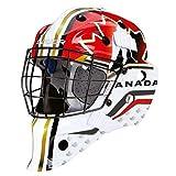 Bauer NME Street Torwart Maske Bambini (Nation), Farbe:Canada