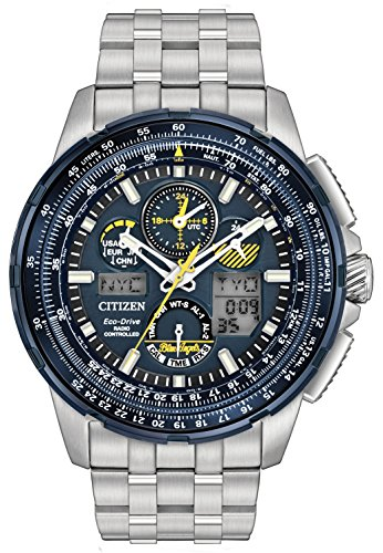 Citizen Watch Men's Analogue Solar Powered Stainless Steel Strap JY8058-50L