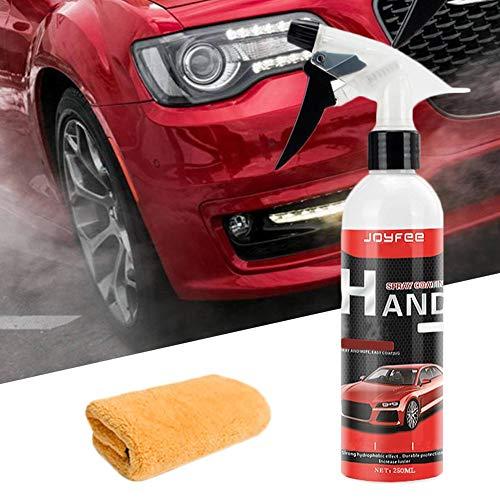 Preisvergleich Produktbild Quiet.T Auto Sprühwachs aus Kieselsäure Teflon Andere Hocheffiziente Verglasungswasserkomponenten für Autoschönheit und Glasur