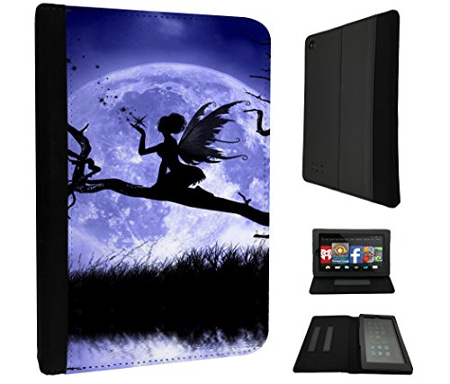 794-fairy-falling-stars-and-moon-design-amazon-kindle-fire-7-5th-generation-2015-release-only-fashio