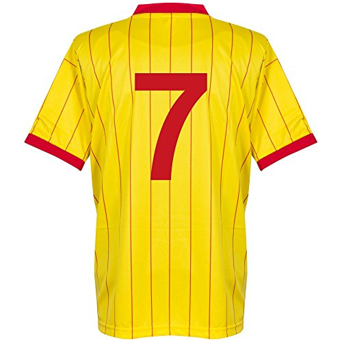 1982 Liverpool Away Retro Trikot + No7 - S