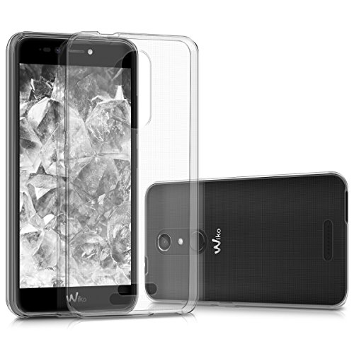 kwmobile Wiko Upulse Lite Hülle - Handyhülle für Wiko Upulse Lite - Handy Case in Transparent