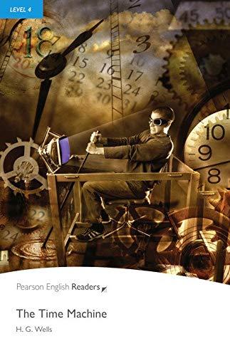 The Time Machine, w. 3 MP3-CDs (Pearson English Reader, Level 4) (Cover Bild kann abweichen) Mp3-cover