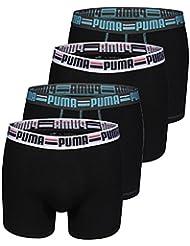 Puma Boxer pour homme Inscription marque PUMA sur l'élastique