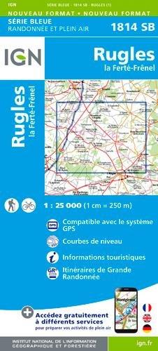 1814SB RUGLES - LA FERTE FRENEL par COLLECTIF