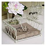 Best unknown Napkin Holders - Bliss and Bloom Heart Napkin Holder Cream Review
