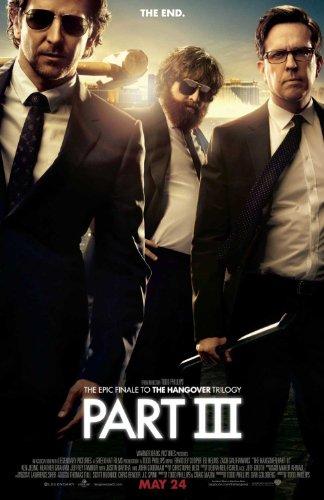 The Hangover Part Iii Beidseitige Filmplakat Regular Poster (Bradley Cooper, Zach Galifianakis) Original-Kinoplakat (69Cm X 102Cm)