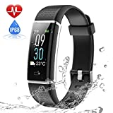 Tiscen Fitness Tracker Waterproof IP68, Activity Tracker Watch with Blood Pressure Heart Rate
