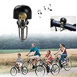 Huttoly Fahrradklingel Laut, Classic Fahrradglocke Universal Retro Fahrrad Ring für Alle Fahrrad Fahrrad-Klinge Alarm Horn Lenkerklingel (Lenker Alarm Horn Ring 22-36mm)