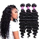 Best Grade Of Human Hair Weave - VRVOGUE Brazilian Deep Wave 3 Bundles 100% Human Review