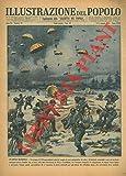 Un eroico manipolo. Un gruppo di 250 paracadutisti tedeschi, munito di armi automatiche, di radio e di biciclette smontabili, scese sul territorio norvegese presso Dombas che si trova sulla linea fe
