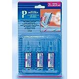 PROTENROP Descalcificador para planchas, 25 mililitros, 3 Unidades, Color Azul, 25 ml