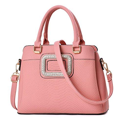 Borsa Messenger Tridimensile Trendy Messenger Elegante Elegante Pink