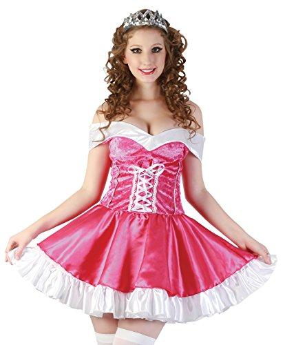 Boland 83614 - Erwachsenenkostüm Prom Queen, rosa