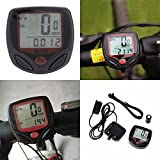 Sunding SD 548 B 14 Function Waterproof Bicycle Computer Odometer Speedometer by Robostore India