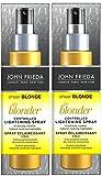 John Frieda Sheer Blonde Go Blonder Aufhellendes / Highlight Spray (2 X 100 ml jedes)