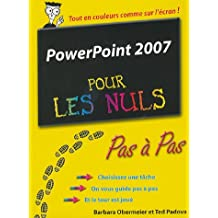 POWERPOINT 2007 PAS PAS PR NUL