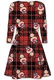 Rudolph Weihnachtskleid, Schottenmuster