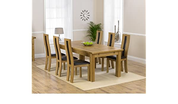 Astounding Corona Oak Dining Furniture Extra Large Extending Dining Gmtry Best Dining Table And Chair Ideas Images Gmtryco