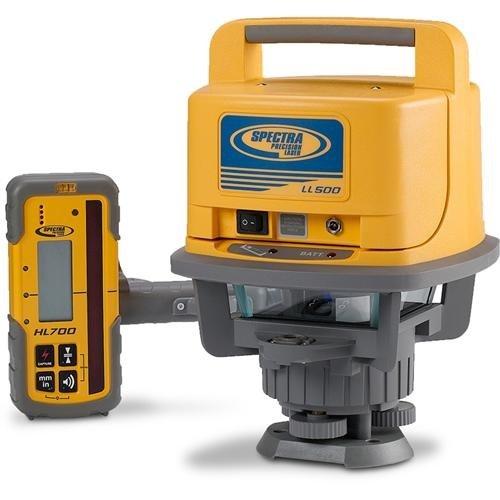 Spectra Precision LL500livella laser con HL700–giallo