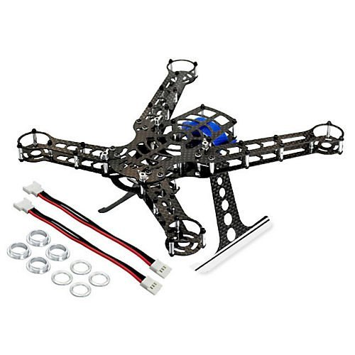 200 Size Quadcopter Frame Kit - Alum/ Carbon Fiber by Microheli Co.