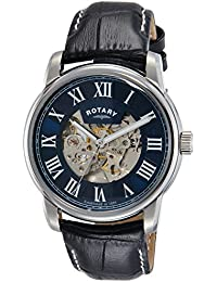 Rotary Analog Blue Dial Men's Watch - GS00400/05