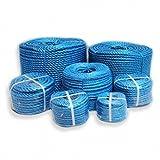 POLYPROPYLENE ROPE 8MM X 20 METERS BLUE Polyrope, Polypropylene, Polyprop