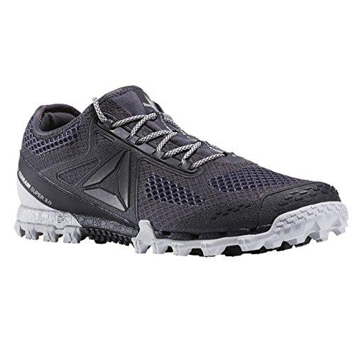 Reebok Bd1585, Chaussures Trail Running Homme Gris (Ash Grey / Black / Skull Grey / Pewter)