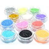 Kleancolor-3-D-Nail-Art-Decoration-Professional-Holo-Galore-Glitter-Powder-+-Free-Earring
