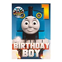 Gemma International Thomas The Tank Engine 1st Birthday Card