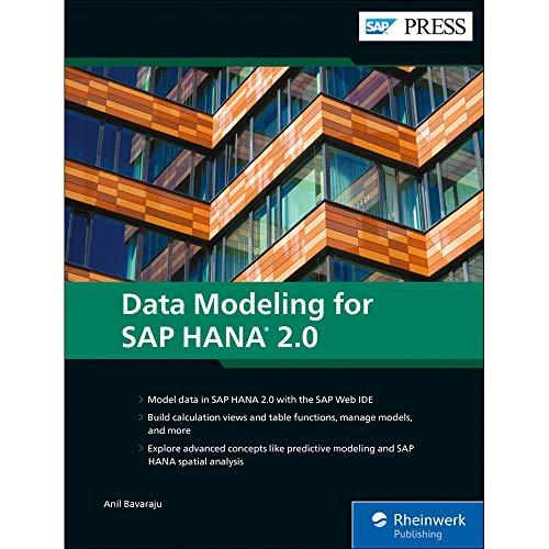 Data Modeling for SAP HANA 2.0 (SAP PRESS: englisch)