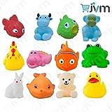 #7: JVM Chu chu Bath toys Multi-color
