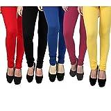 #6: Rudraksha Cotton Lycra Leggings for Woman (Pack of 5)