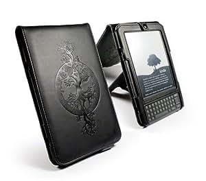 """Tuff-Luv Apocalypse Étui en simili cuir avec support pour Kindle 3G / Wifi 6"""" 'Tree of Life' (Import Royaume Uni)"""