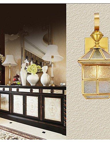 Illuminazione jiaily lampada da esterni, la lampada da giardino, lampada da esterni, di rame pieno di una lampada , bianco caldo-220-240v