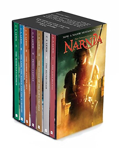 Chronicles of Narnia Movie Tie-In Rack Box Set Prince Caspian (Books 1 to 7), Th (The Chronicles of Narnia)