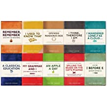 English Phrases Collection 10 Books Set Pack,(I Before E, Remember, Remember, I Used to know that, A Classical Education, An Apple a Day, My Grammar and I, I Wandered Lonely as a Cloud.., Opening Pandora's Box and I think, Therefore i am