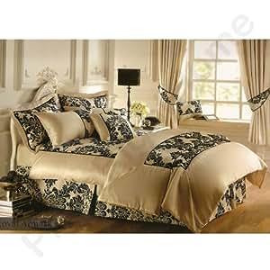 Gaveno Cavailia « Armask Royal » crème/noir Double couvre-lit avec oreiller 2
