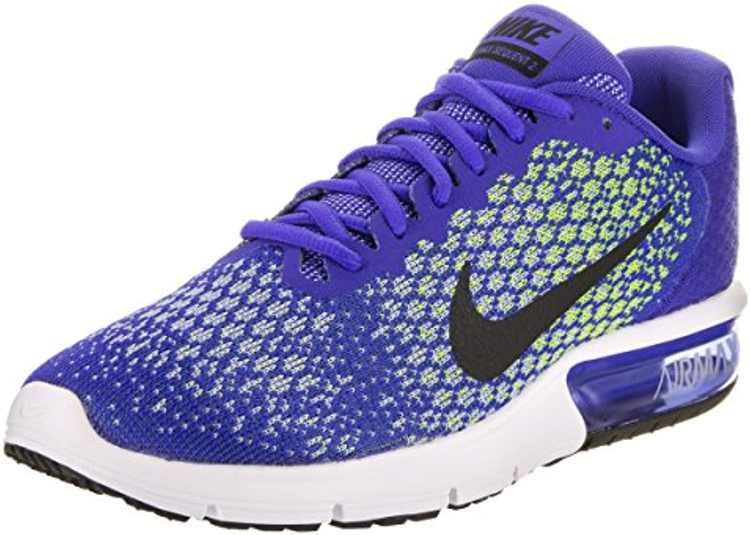 Nike - Air Max Sequent 2 - 852461401 - Color: Azul-Gris - Size: 46.0
