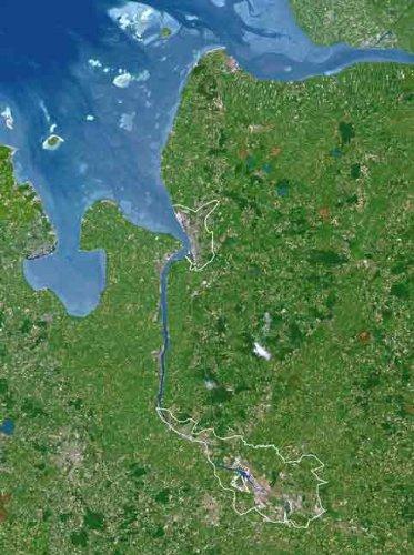 Planet Observer Bremen, Poster Planeten Karte