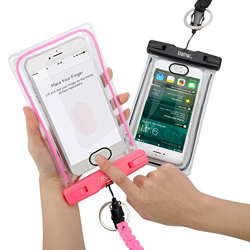 eotw-ipx8-2-pack-waterproof-case-bag-support-fingerprint-identificationuniversal-cell-phone-dry-case