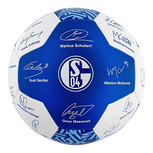 FC Schalke 04 Ball/Fussball/Unterschriftenball ** Team 2019/2020 **