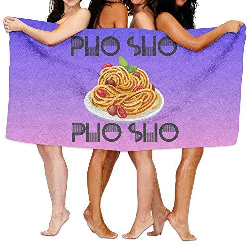 Not afraid Pho SHO Microfiber Beach Towel,Quick Dry,Lightweight,Pool Bath Towel Beach Blanket for Travel Swim Pool Yoga Camping Beach Gym Sport Oversized-30 X 60