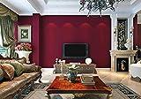 Vintage American country wallpaper Schlafzimmer Wohnzimmer Hintergrund plain Vliestapeten dunkel Rot
